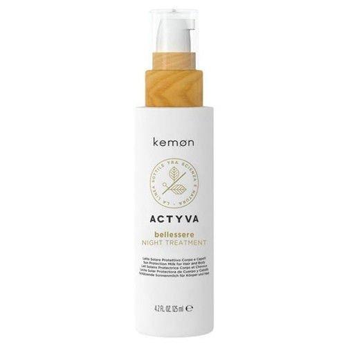 Actyva Bellessere Night Treatment odżywka na noc bez spłukiwania 125 ml Kemon