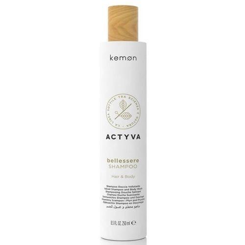 Actyva Bellessere Shampoo Hair & Body szampon do włosów i ciała 250 ml Kemon