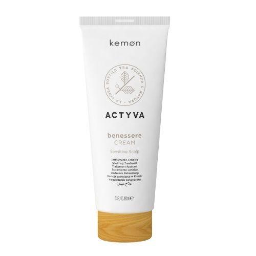 Actyva Benessere Cream krem łagodzący do wrażliwej skóry głowy 200 ml Kemon