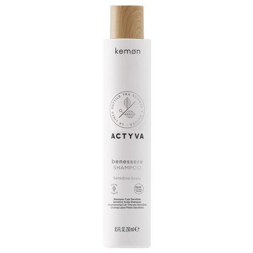 Actyva Benessere Shampoo szampon do wrażliwej skóry głowy 250 ml Kemon