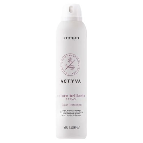 Actyva Colore Brillante Spray ochronny do włosów farbowanych 200 ml Kemon