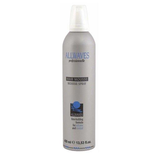 Allwaves Hair Mousse pianka do włosów 400 ml Black