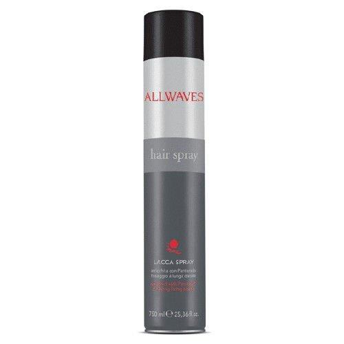 Allwaves Hair Spray lakier do włosów 750 ml Black