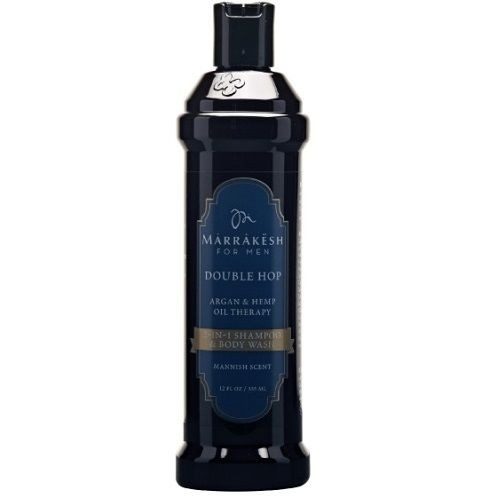 Double Hop 2 in 1 Shampoo & Body Wash szampon do włosów i ciała dla mężczyzn 335 ml Marrakesh