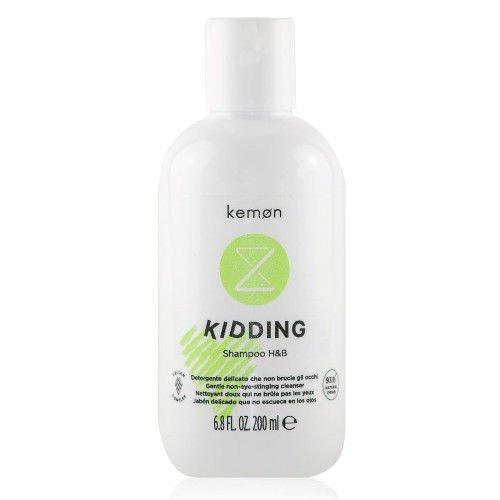 Liding Kidding Shampoo H&B szampon do włosów i ciała dla dzieci 200 ml Kemon